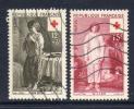 Frankrijk, Yv 1089-90 Jaar 1956, Gestempeld ,  Cote 7,10  Euro à 18 %, Zie Scan - Francia