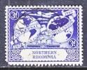 Northern Rhodesia 51  Fault  (o) - Northern Rhodesia (...-1963)