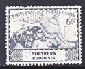Northern Rhodesia 52  Fault  (o) - Northern Rhodesia (...-1963)