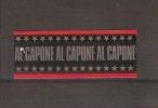 Bague De Cigares / AL CAPONE (noire Bords Rouges) - Cigar Bands