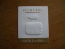 Carte Lauder Beautiful GM* - Perfume Cards