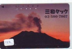 Volcan Volcano Vulkan Sur Telecarte (122) - Volcans