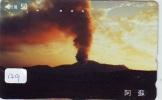 Volcan Volcano Vulkan Sur Telecarte (129) - Volcans