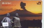 Volcan Volcano Vulkan Sur Carte (137) - Volcans