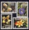 Djibouti N° 544 / 47 XX : Flore : Fleurs Les 4 Valeurs Gomme Blanche Mate Sans Charnière TB - Dschibuti (1977-...)