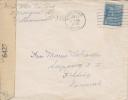 USA; WW2 Censored Cover To Denmark - Estados Unidos