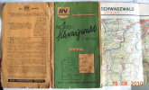 RV Stuttgart Landkarte- Spezialwanderkarte Nr. 23 Von 1950 - Landkarten