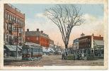 Leominster Monument Square , South  JI Williams  Tram Tramway - Etats-Unis