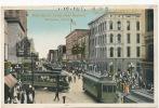 Memphis Main Street South From Madison Tram Tramways Written 1916 - Memphis
