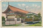 Philadelphia West Park Trolley Station 44th And Elms Ave.   Tram Tramway - Philadelphia