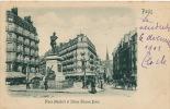 PARIS - Place Maubert Et Statue Etienne Dolet (1901) - Jolie Carte Avec Reliefs - Non Classés