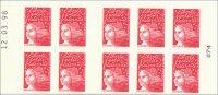 Carnet 10 Timbres-poste Marianne De Luquet LA POSTE Neuf Non Plié 12.03.98 - Usage Courant