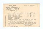788/18 - Carte Privée TP Albert 15 ROESELARE 1921- Entete Ets Muylle - Facon ( Mastics) - 1915-1920 Alberto I