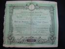 Emprunt De 10  Millions Au Profit Des Associations De La Presse Paris 1887 - Banque & Assurance