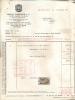 Factuur Facture Vins Et Spiritueux - Bisquit Dubouché & Cie - Bruxelles - 1955 - Belgique