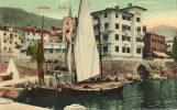 LOVRANA (Croatie) Vue Du Port Bateaux De Peche - Croatia