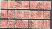 _1B913: Restje : 21 Zegels...  Om Verder Uit Te Zoeken... - 1906 Guillaume IV