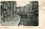 AMSTERDAM (Pays Bas) Bord De Canal Vieilles Maisons - Amsterdam