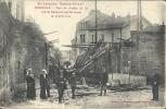LORRAINE - 54 - MEURTHE ET MOSELLE - En Lorraine Guerre 1914-17 - LUNEVILLE Pont Chemin De Fer Détruit Par Les Allemands - Luneville