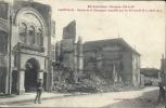 LORRAINE - 54 - MEURTHE ET MOSELLE - En Lorraine Guerre 1914-17 - LUNEVILLE Entrée Synagogue Incendiée Par Les Allemands - Luneville