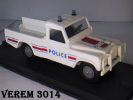 VEREM - LAND ROVER Police -  1/43° - Verem
