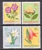 Belgium Congo 263-6  *    FLOWERS - Belgian Congo