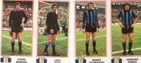 Inter- Giocatori- Figurine Panini 1974 /75..162-173-164-166 - Panini