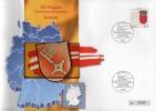 TK O 038/93 Wappen Weser-Land Bremen ** 25€ Auf Brief Deutschland With Stamp # 1590 Tele-card Wap Cover Of Germany - Deutschland