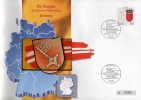 TK O 038/93 Wappen Weser-Land Bremen ** 25€ Auf Brief Deutschland With Stamp # 1590 Tele-card Wap Cover Of Germany - Allemagne