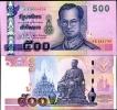 THAILAND 500 BAHT P 107 SIGN 82 UNC - Thaïlande