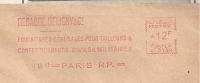 Uniforme, Tailleur, Confection, Soldat - EMA Havas -Enveloppe   (J384) - Militaria