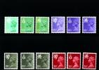 GREAT BRITAIN - 1982 REGIONAL SET (12½+15½+19½+26)  MINT NH - Regionali