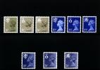 GREAT BRITAIN - 1983 REGIONAL SET (16+20½+28)  MINT NH - Regionali