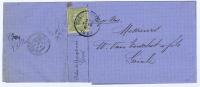 België:   Vouwbrief  Antwerpen  -> Goirle   1888,  OBP 47