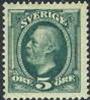 ZWEDEN 1891-03 5õre Groen Oscar II Koperdruk PF-MNH-NEUF - Neufs