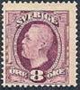 ZWEDEN 1891-03 8õre Violet Oscar II II Koperdruk PF-MNH-NEUF - Neufs