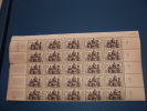 N° 1063 En Demi  Feuille De 25  Timbres Neuf** - Fogli Completi