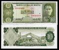 Bolivia. 10 Bolivianos. 1962. AU-UNC. Rare Note - Bolivie