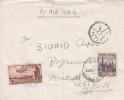 Egypt; Censored Cover To USA 1953 - Cartas
