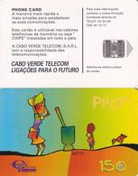 CAPE VERDE(chip) - Pilon, Used - Cape Verde