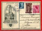 ROUMANIE CARTE EXPOSITION PHILATELIQUE DE 1938 DE SIBIU POUR SIGHISOARA COVER - Poststempel (Marcophilie)