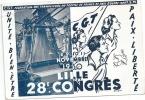 28e Congres De La CGT  A Lille - France