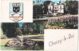 94. Cpsm. Pf. CHOISY-LE-ROI. La Mairie. La Pendule - Choisy Le Roi