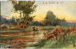 PAISAJE    ILUSTRACION      CIRCULADA 1911       OHL - Postkaarten