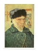 Cp, Peintures Et Tableaux, Vincent Van Gogh - Auto Portrait à L'oreille Coupée -Texte Au Verso - Pittura & Quadri