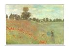 Cp, Peintures Et Tableaux, Claude Monet - Les Coquelicots - Texte Au Verso - Peintures & Tableaux