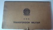 BRASIL - DMB - TRANSFERIDOR MILITAR - PRANCHETA DE TIRO - VF - Equipement