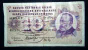 SUISSE - 10 Francs Suisse - Suiza
