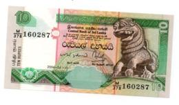 * SRI LANKA - 10 RUPEES 2004 UNC - P 115 C - Sri Lanka