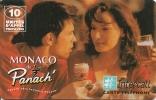 CARTE-PREPAYEE-INTERCALL- 10MN-MONACO  De PANACH--TBE LUXE- - Prepaid Cards: Other